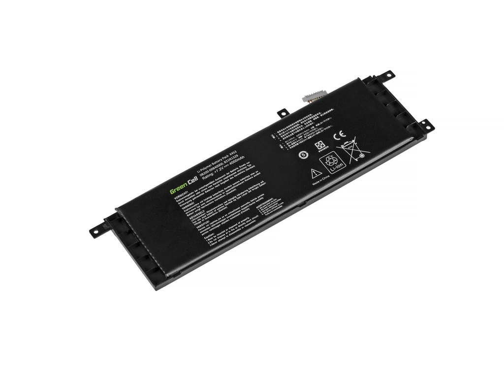 Green Cell Battery for Asus X553 X553M F553 F553M / 7,2V 3800mAh