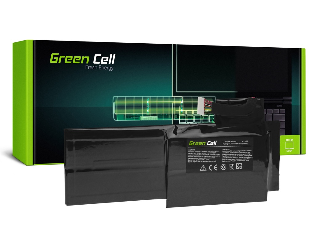 Батерија Green Cell BTY-L76 за MSI GS70 GS72 WS72